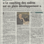 Article Courrier Picard - 30 01 2015